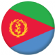 Eritrea Country Flag 25mm Pin Button Badge